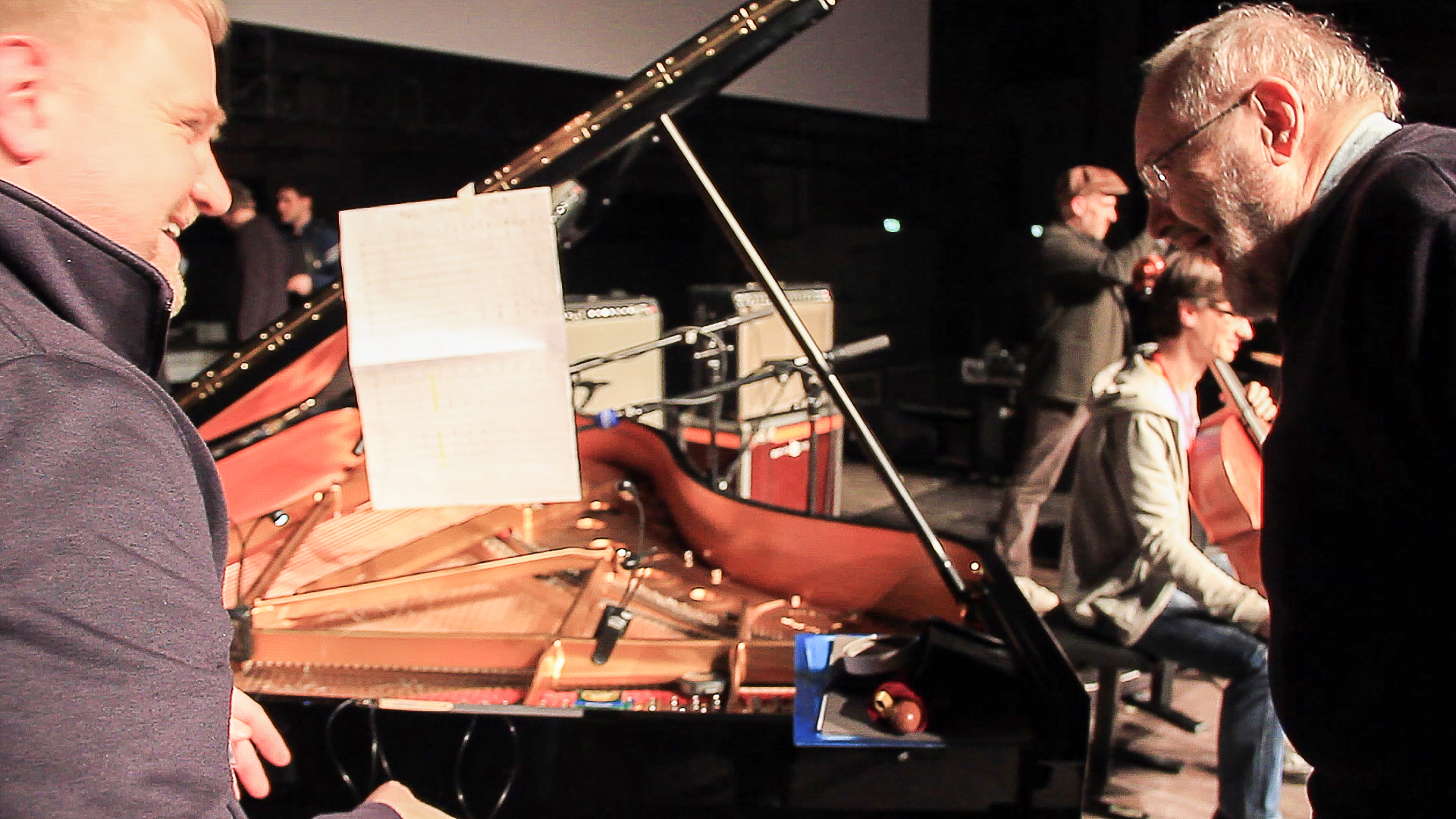 Phill Niblock at maerzmusik